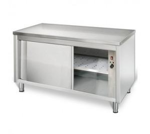 Table 1400x600 dessous chauffant centrale