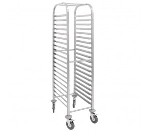 CHARIOT INOX 20 NIVEAUX GN 1/1