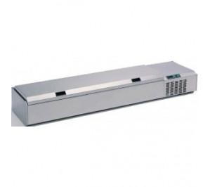 Kit / étagère réfrigéréelong. 3000 pour bacs gastro GN 1/4 - série l7 - version standard - - couvercle inox