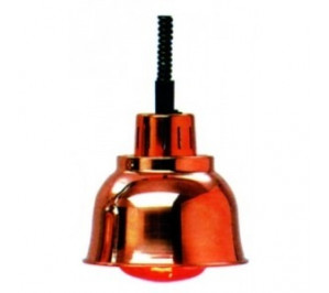 Lampe infra-rouge chauffante cuivre
