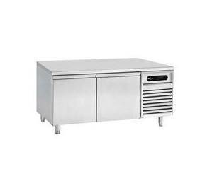 Soubassement réfrigéré - froid negatif - 16° - 26°c - 2 tiroirs - 1200x700x650mm - 280w