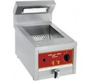 Réserve chauffante à friture électrique à poser