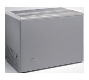 Refroidisseur 387 litres pour boissons fraîches 0° avec 10°c aspect inox