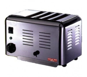 Toaster professionnel vertical 4 fentes a bun's