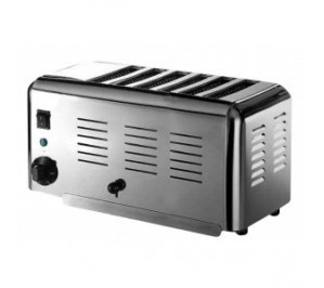 Toaster professionnel vertical 6 fentes a bun's