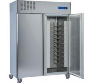 Armoire 2 portes pâtissière 600x400 négative 1400 litres inox
