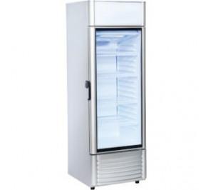 Armoire 1 porte vitrée à boissons & produits frais - 239 litres - 575x590x1705mm - 119w