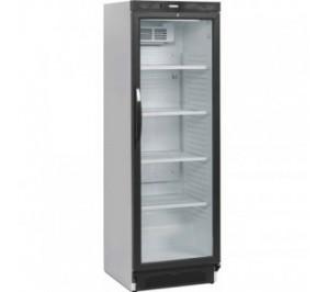 Armoire réfrigérée laquée blanc 1 porte vitrée - 374 litres