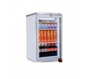 Mini armoire 1 porte vitrée réfrigérée - 105 litres
