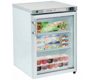 Mini armoire blanche 1 porte vitrée négative - 18 - 22°c 200 litres