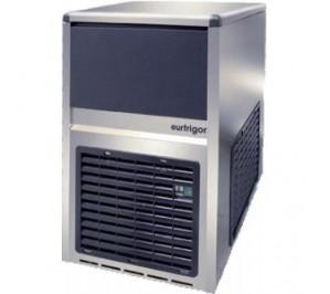Machine à glacons 28kg/j. systeme à aspersion avec réserve incorporée - condensateur eau - 370w -