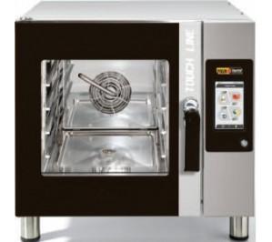 Four mixte 4 niveaux pâtisserie 400x600 - air pulsé - vapeur - digital Touch Screen -