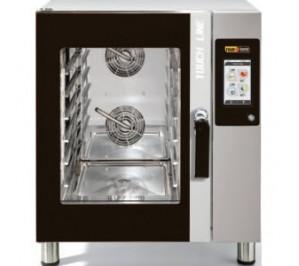Four mixte 6 niveaux 400x600 - pâtisserie - air pulsé - vapeur - digital Touch Screen