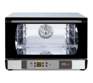 Four mixte 3 niveaux - interieur 600 x 400 pâtissier - air pulse + système d'humidificateur - commande digitale