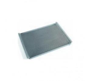 Plaque aluminium perforée - 442 x 325 x h. 20 mm