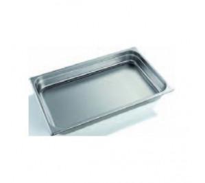 Plaque/bac inox gastro GN 1/1 hauteur 65mm