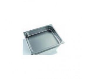 PLAQUE INOX GN 2/3 - GASTRO CHEF 2/3 - 65MM