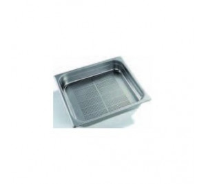 PLAQUE INOX GN 2/3 PERFOREE - GASTRO CHEF 2/3 - 65MM