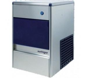 Machine à glacons 58kg/j. systeme à palettes avec réserve incorporée - condensateur eau - 490w - réserve:20kg