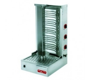 Doner kebab électrique 38/40 kg - 4 zones résistances blindées
