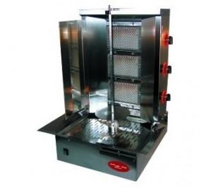 Doner kebab gaz 22/25 kg - 3 zones radiant gaz
