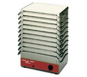 Chauffe-plats & assiettes électrique par accumulation 10 plaques