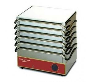 Chauffe-plats & assiettes électrique par accumulation 6 plaques
