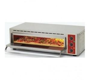 Four à pizza - 1 chambre 660 x 430 - quartz infrarouge avec pierre réfractaire