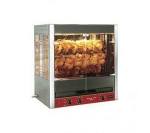 Rotissoire à 5 balancelles 20/25 poulets électrique