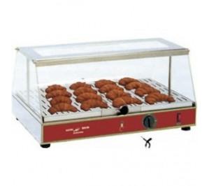 Vitrine chauffante / chauffe croissants - GN 1/1
