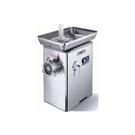 Hachoir à viande production 450 kg/h réfrigéré super professionnel et compact - barcellona - 98mm