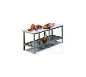 Table billot 1500x800x850 pour laboratoire - polyéthylène 1580 -