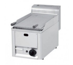 GRILL CHARCOAL GAZ SIMPLE PIERRE DE LAVE