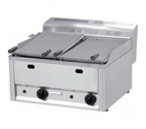 Grill charcoal gaz à poser - bruleurs surpuissant - 660 x 600 x 290 -