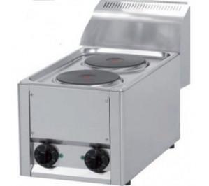 Plan de cuisson électrique 2 plaques rondes - 2 x 2 Kw