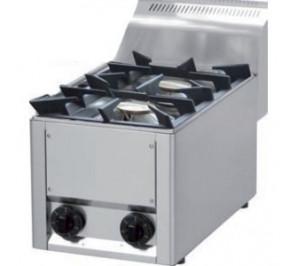 Plan de cuisson gaz 2 feux vifs 2x 4,5 Kw
