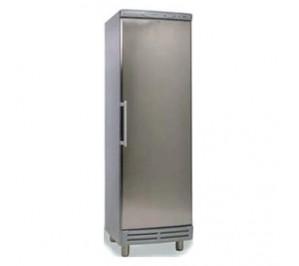 Armoire réfrigérée positive 400 litres - 1 porte pleine - 595 x 595 x 1840 - finition inox