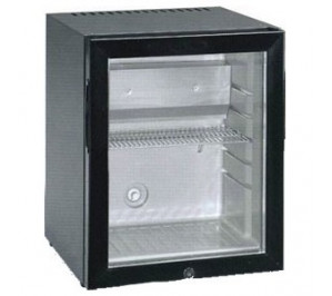Mini bar réfrigéré - avec 3° avec 10°c - porte vitrée - 30 litres - 400x412x500mm