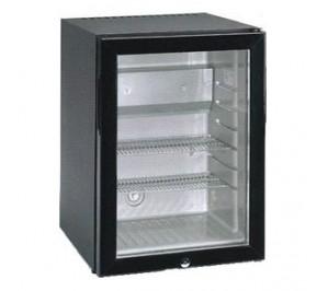 Mini bar réfrigéré - avec 3° avec 10°c - porte vitrée - 40 litres - 400x452x560