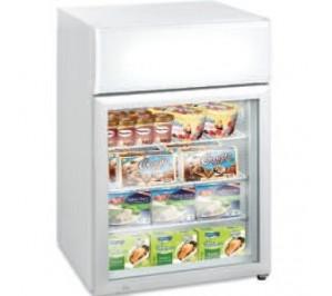 Mini-vitrine réfrigérée de comptoir - froid négatif - 12 - 24°c - 113 litres