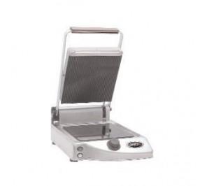 Grill Panini vitrocéramique - plaques sup. rainurée /inf. lisse - xp 010 pr