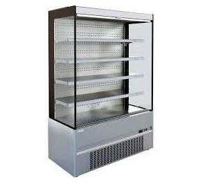 Vitrine Long.. 685 ouverte réfrigérée compact tout inox cronus