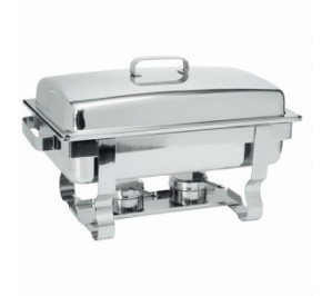 Chafing dish gastronorme GN 1/1 - 9 litres - modèle rental - hendi