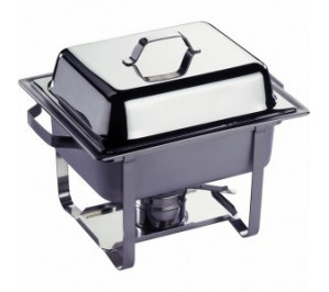 Chafing dish gastronorme GN 1/2 - 4.5 litres - modèle economic - hendi