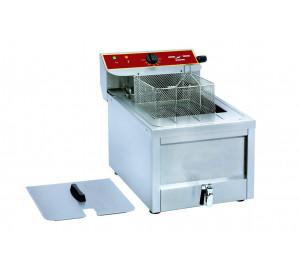 Friteuse 12 litres électrique avec vidange à poser