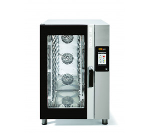 Four mixte 10 niveaux pâtisserie 400x600 - air pulsé - vapeur - Touch Screen