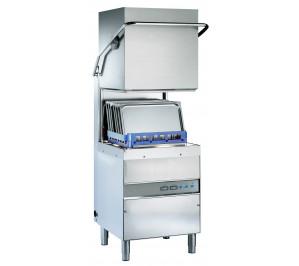 Lave-vaisselle à capot 1100 ass. /h - panier 500 x 500-adoucisseur incorpore - débit intensif
