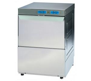Lave–vaisselle/ assiettes - 540 ass./h - panier 500 x 500-avec pompe de relevage pour la vidange.