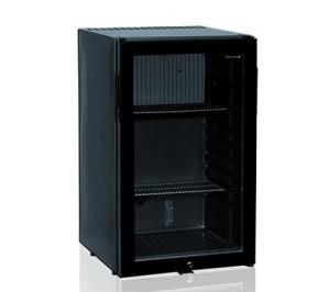 Mini bar réfrigére vitre 52 litres noir