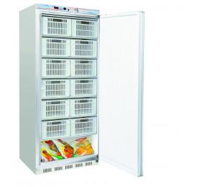"""Armoire 1 porte 600 lt """"special casiers"""" laquée blanc froid negatif"""